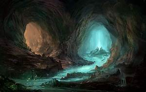 Cave by Nele-Diel on DeviantArt