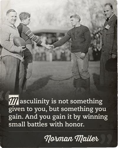 Art Of Manliness Quotes On Manhood