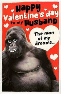 Husband Sexy Beast Valentine's Day Greeting Card | Cards ...