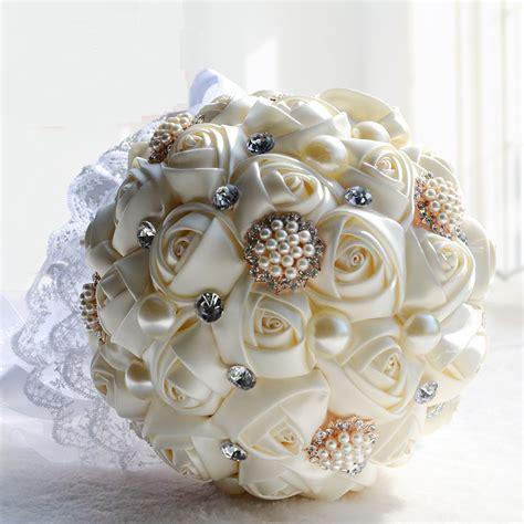 bridal bridesmaid wedding bouquet cheap  luxury