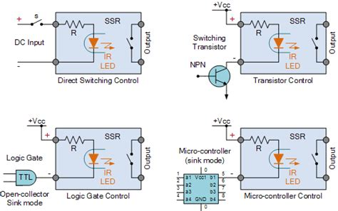 relays ssr relays fotek ssr 40da