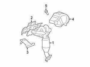 Ford Escape Bolt  Shield  Exhaust  Screw  Heat  2 3  U0026 2 5