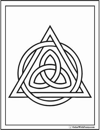 Image result for Celtic love knotworkColoring Pages for