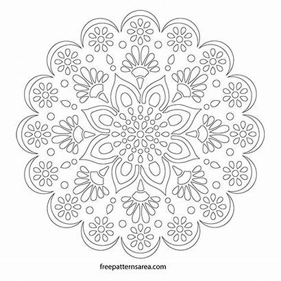 Mandala Stencil Patterns Wall Pattern Printable Templates