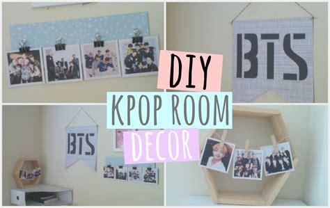 diy kpop room decor bts  astro   youtube