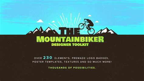 How to create a Mountain Bike Logo in Illustrator using ...