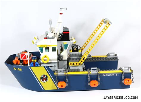 Lego Boat Explorer by Review Lego 60095 Sea Exploration Vessel