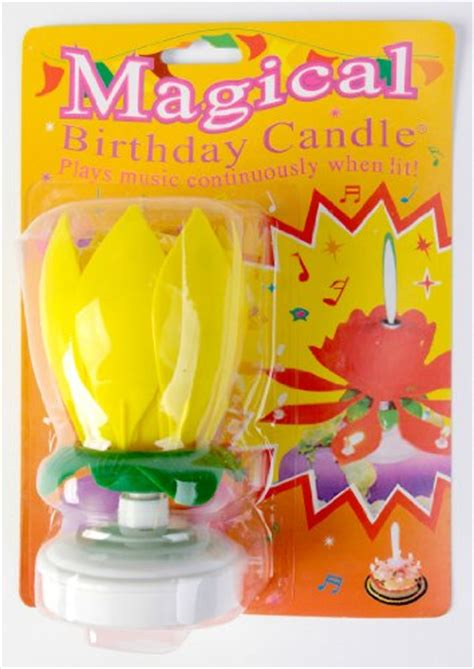 The Amazing Happy Birthday Candle(colors Vary) Buy