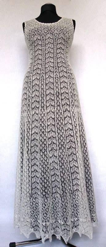 traje de novia de liina rees tejido en encale de estonia