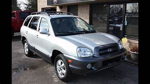 Used 2005 Hyundai Santa Fe Gls Sunroof For Sale Georgetown Auto Sales Ky Kentucky Sold