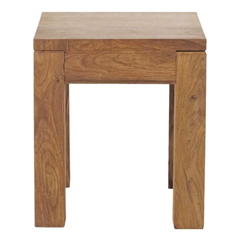 maison du monde canapé solid sheesham wood side table w 40cm stockholm maisons