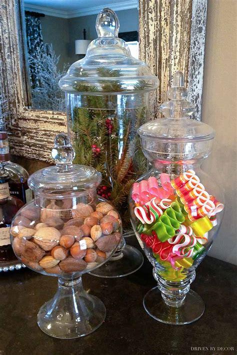 decorating  apothecary jars driven  decor
