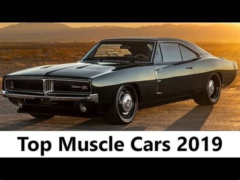 ep2 10 new muscle cars american coming in 2018 best