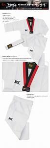 Taekwondo Uniform Mooto MTX Korea White Belt TKD Uniforms ...