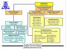 Staff Structure Audley Primary School, Surrey