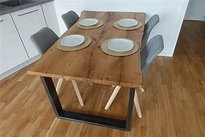 Tisch Aus Bohlen Selber Bauen : esstisch selber bauen aus holzbohlen diy esstisch careelite ~ Eleganceandgraceweddings.com Haus und Dekorationen