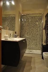 Foto: Bagno con Doccia In Mosaico di Living Soluzioni In Edilizia #210862 Habitissimo