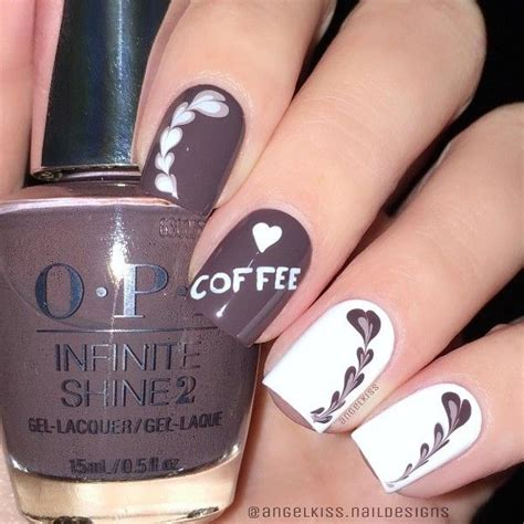 Rated 4.7 out of 5. 50 Ideas of Coffee Nails | NAILSPIRATION | Square nail ...
