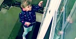 Moment little girl is literally blown away as she opens ...