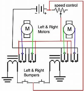 The Left And Right Bumpers Simply Fired A Dpdt Relay