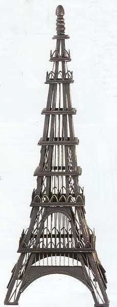 table top eiffel tower interiordecorating