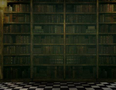 The Old Library ~Premade Background ~~~~~~***Please