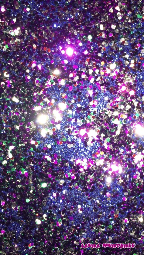 Wallpaper Glitter by Colorful Glitter Phone Wallpaper Sparkling Background