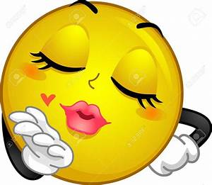 39604979-Mascot-Illustration-of-a-Smiley-Blowing-a-Kiss ...