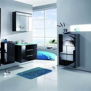 Fackelmann Badmöbel Kara : fackelmann kara spiegelschrank 80 cm led anthrazit 80960 creativbad ~ Watch28wear.com Haus und Dekorationen
