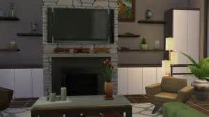 the livingroom the sims 4 build mode part 1