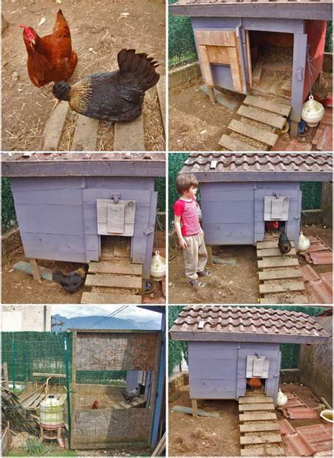 faire maison un poulailler fait maison par fameleon factory