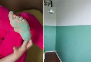 Zwei Wände Farbig Streichen : kinderzimmer renovieren streichen ~ Markanthonyermac.com Haus und Dekorationen