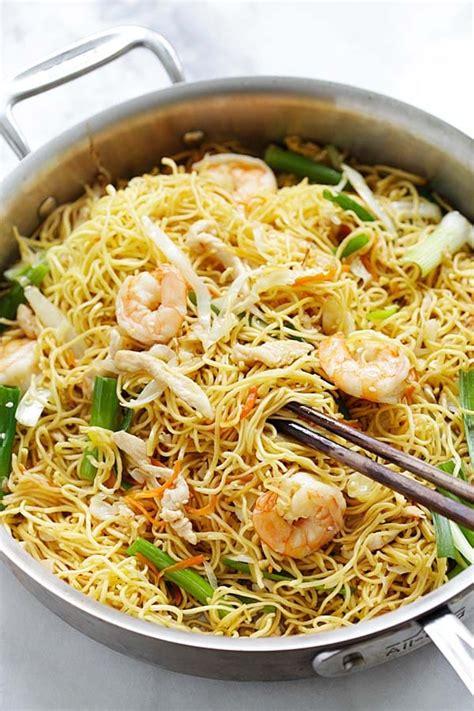 easy chow mein recipe   takeout rasa malaysia