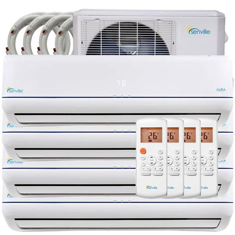 mini split air heat zone pump conditioner quad conditioning looking heating senville system filter cooling cool btu efficiency installation