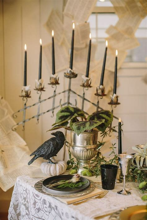 victorian halloween wedding ideas from danielle capito