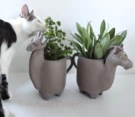 Animal Clay Pottery Ideas