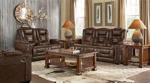 Livingroom Pc Eric Church Highway To Home Chief Brown 3 Pc Living Room Reclining Living Rooms Brown