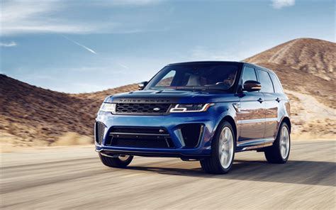 Rover Range Rover Sport 4k Wallpapers by Wallpapers 4k Range Rover Sport Svr Suvs 2018