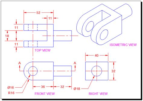 autocad tutorials introduction  section  sectional