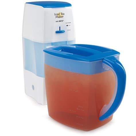 Iced coffee is just hot brewed coffee served cold with ice added or hot coffee left in the fridge to cool. Mr. Coffee 3 qt Iced Tea Maker - Shop Appliances at H-E-B