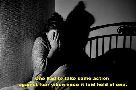 fear   dark wallpaper  fear quote