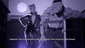 Batman Arkham Origins Blackgate - Catwoman stopped - YouTube