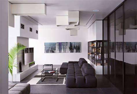 Apartement Living Room : Black & White Living Rooms That Work Their Monochrome Magic