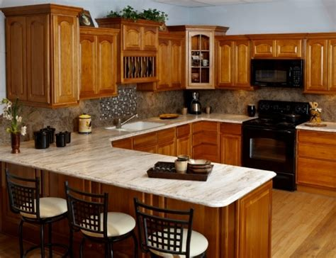 rta hickory kitchen cabinets rustic hickory rta kitchen cabinets cabinets matttroy 4911