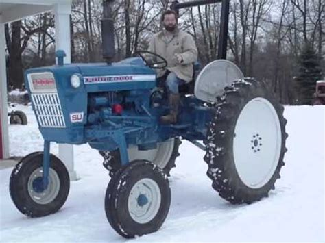 ford 4000 high crop tractor extremely at auction