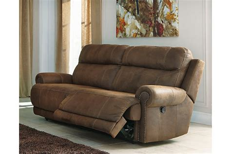 ashley furniture reclining sofa austere reclining sofa ashley furniture homestore
