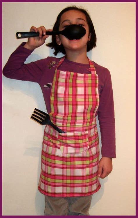 tablier de cuisine 8 ans titella cr 233 ations couture