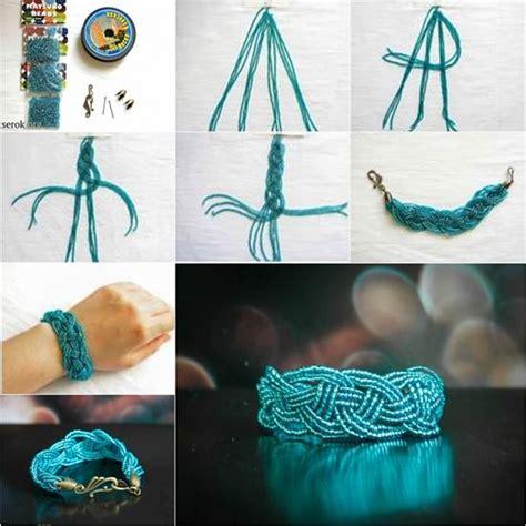 diy beautiful celtic knots weaving bracelet