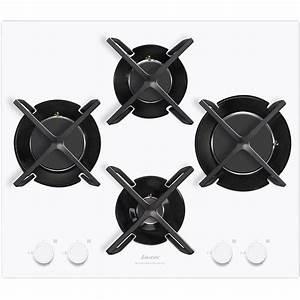 Plaque De Cuisson Gaz Verre Blanc : table de cuisson gaz blanc maison design ~ Dailycaller-alerts.com Idées de Décoration