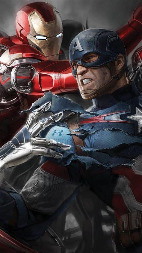 captain america civil war hd wallpapers  iphone apple